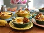 Mini Pays de Huevo con Espárragos y Tocino
