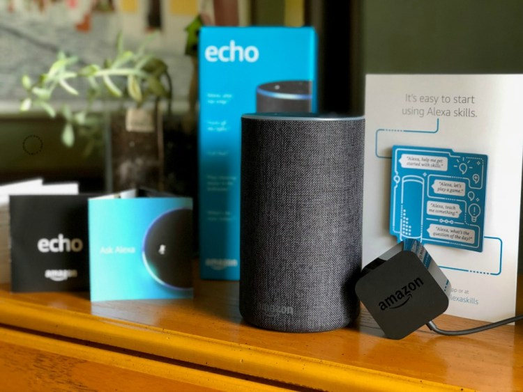 Amazon ECHO y Alexa Skill Blueprints