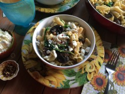Pasta Campanelle con Hongos inspirada en los sabores de México