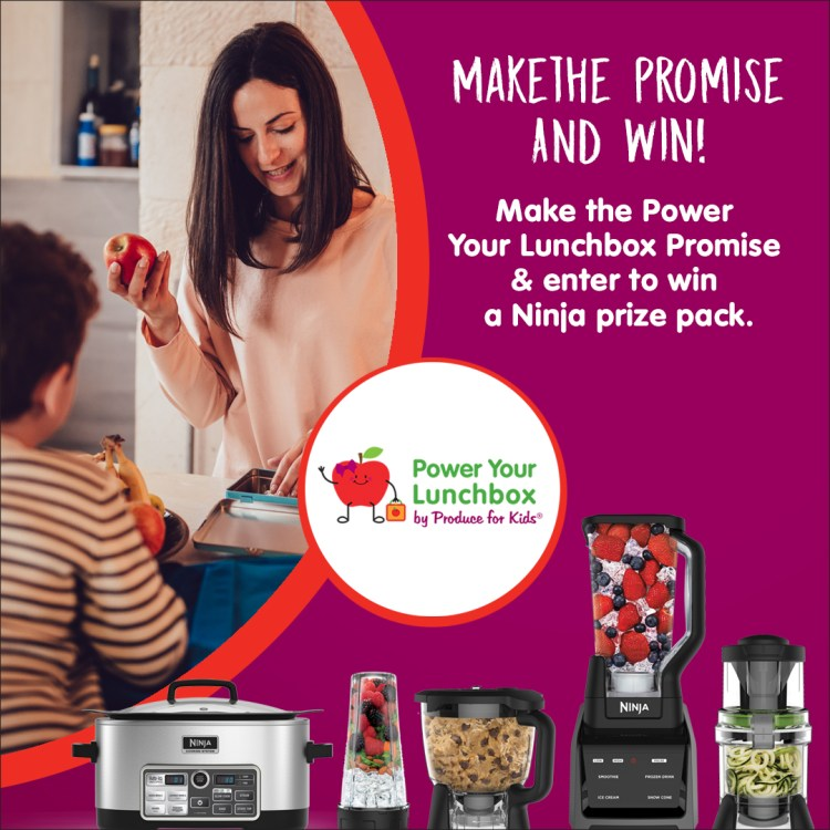 Consumer Sweepstakes Power Your Lunch Box