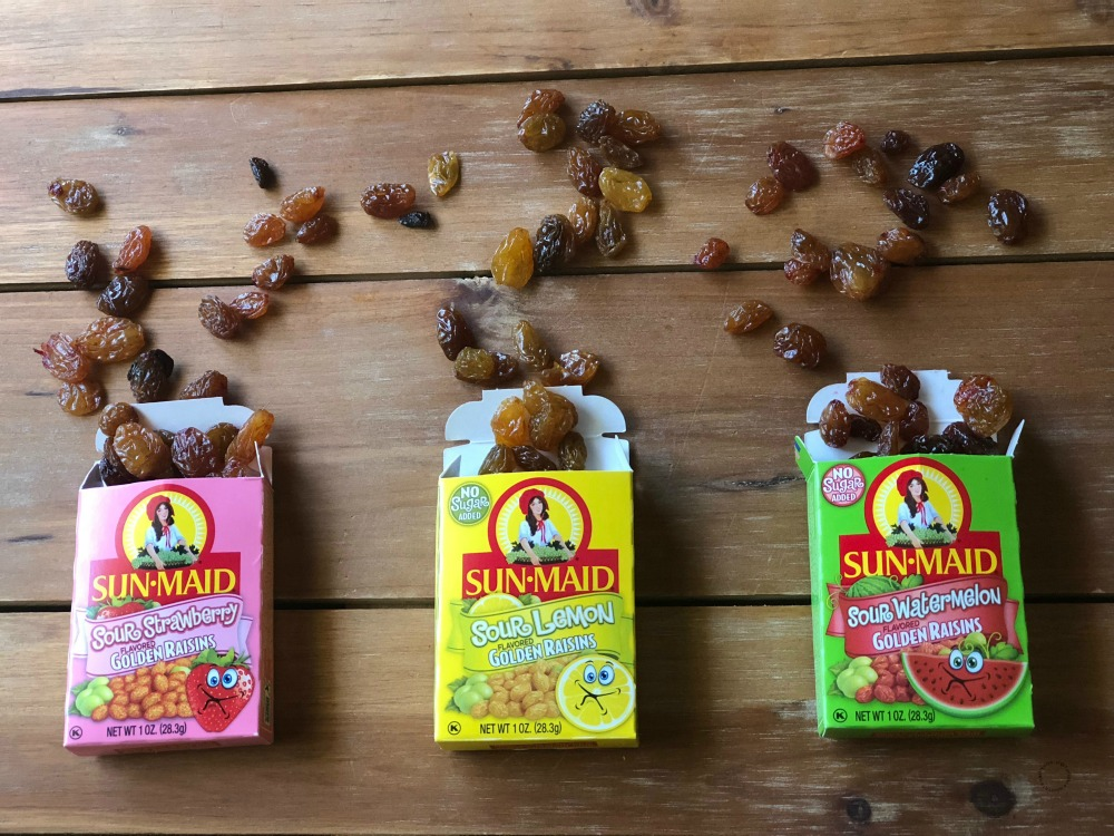 Sweet yummy raisins from Sun-Maid perfect addition to your lunchbox
