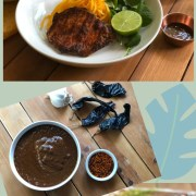 The grilled adoboporkchops are the perfect dish to celebrate the fall and Mexican culture