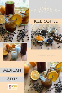 An Iced Coffee Mexican Style for a refreshing moment