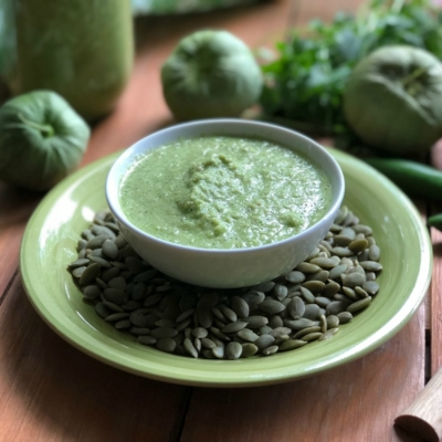 Green Pepita Sauce for Everything