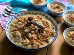 Chai Latte Rice Pudding Dessert