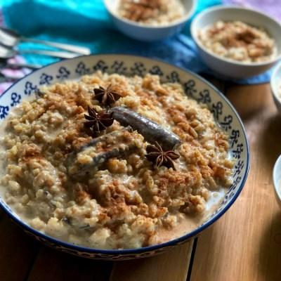 Chai Latte Rice Pudding Dessert Recipe