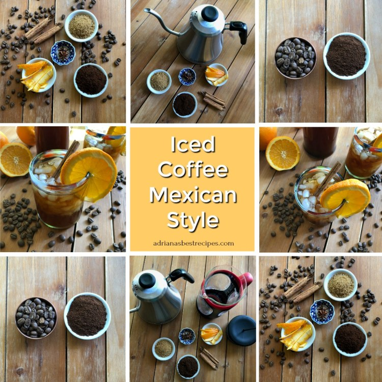 How to make the Iced Coffee Mexican Style