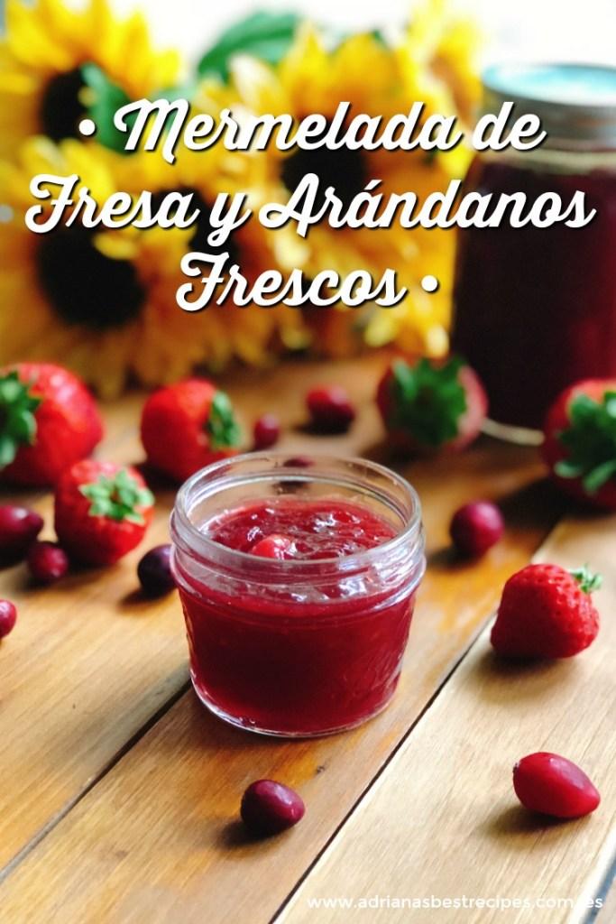 Una mermelada casera de fresa y arándanos perfecta para la temporada
