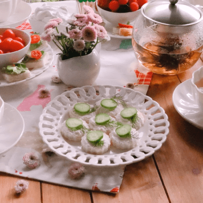 Gluten Free Tea Party Bites