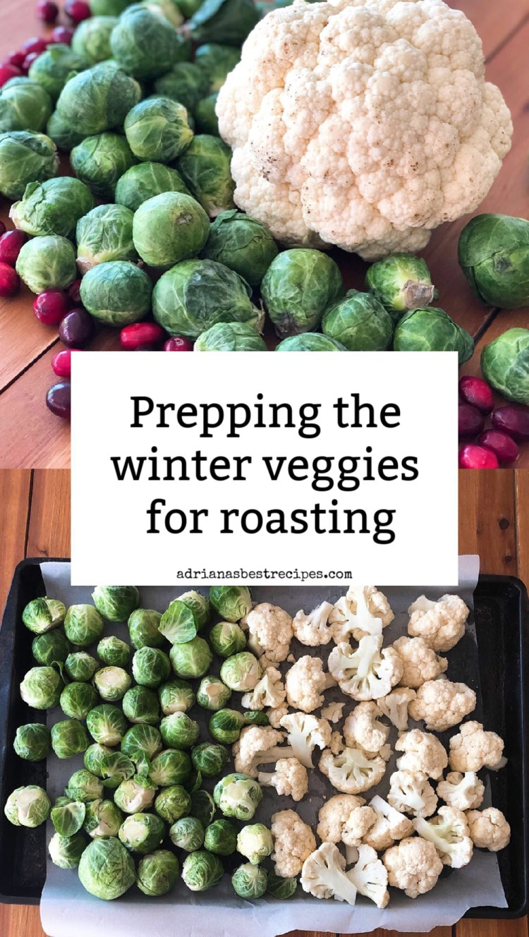Prepping the winter veggies