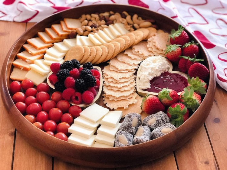 Tabla de quesos para los queseros enamorados