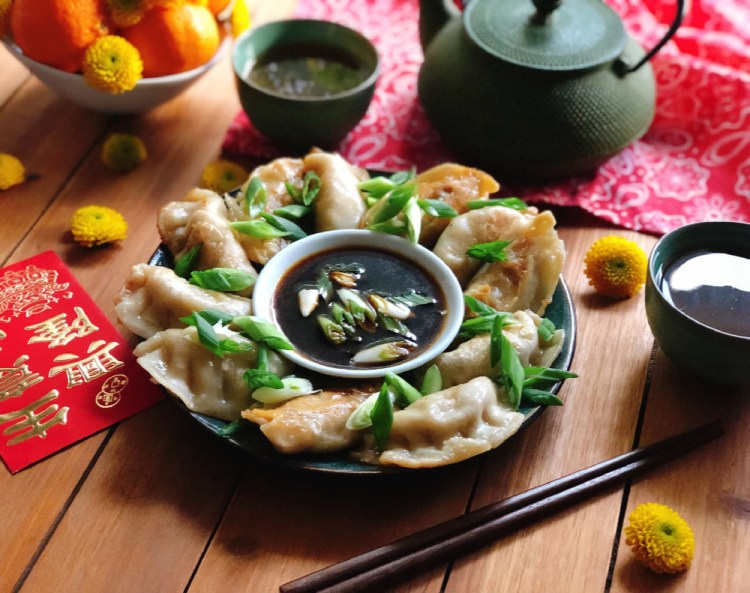 Potstickers vegetarianos marca Ling Ling