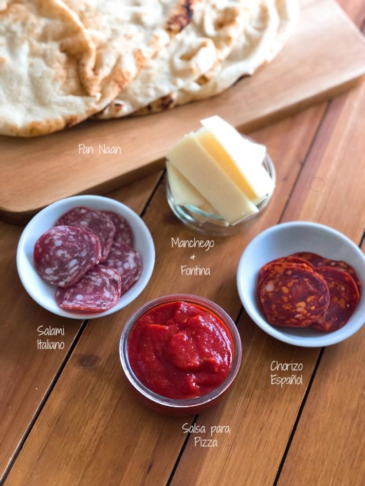 Ingredientes de calidad para hacer pizzas