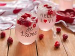 Limonada Rosada Italiana con Frambuesas