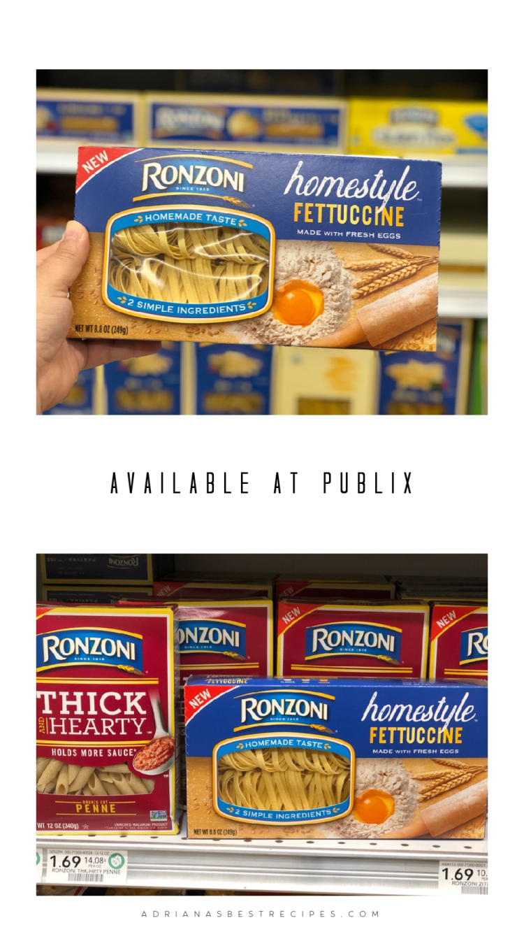 From 5/11/19 through 5/24/19 you can save $1.00 on any one (1) Ronzoni® Thick & Hearty or Homestyle product at your local Publix.