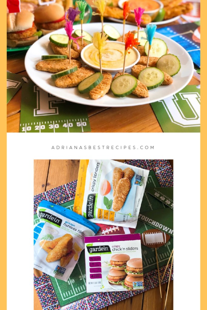 Are you ready to enjoy a vegetarian menu this football season with plant-based food. Organizing a game time will be super easy when using Gardein.