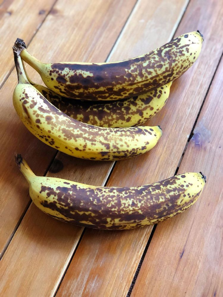 These are ripe bananas that typically would go to waste