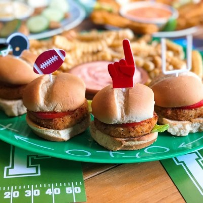 Vegetarian Menu for Game Day!
