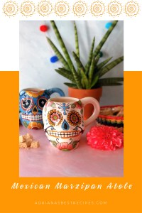 Make the recipe for the Mexican Marzipan Atole or Peanut Atole Hot Drink