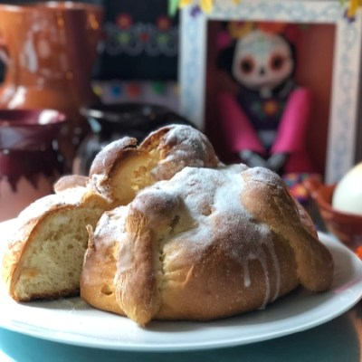 Mexican Bread for the Day of the Dead Feast