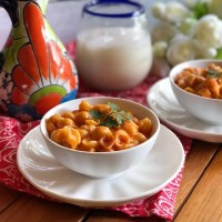 Mexican Pasta Shells with Cheese