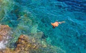 Swimming in the Mediterranean sea