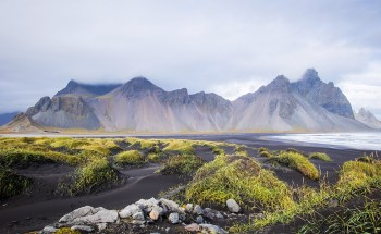 Vesthorn mountains, Iceland