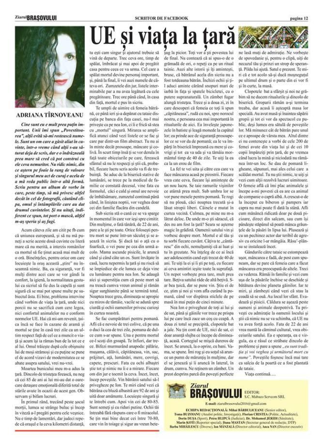 ziarul Brasovului