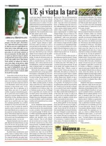 articol apărut in ziar brașovean