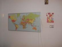 panou radiant hartă