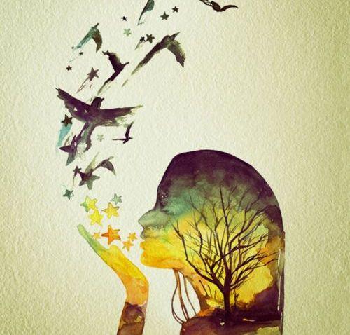 îți poți goli mintea, nu și sufletul