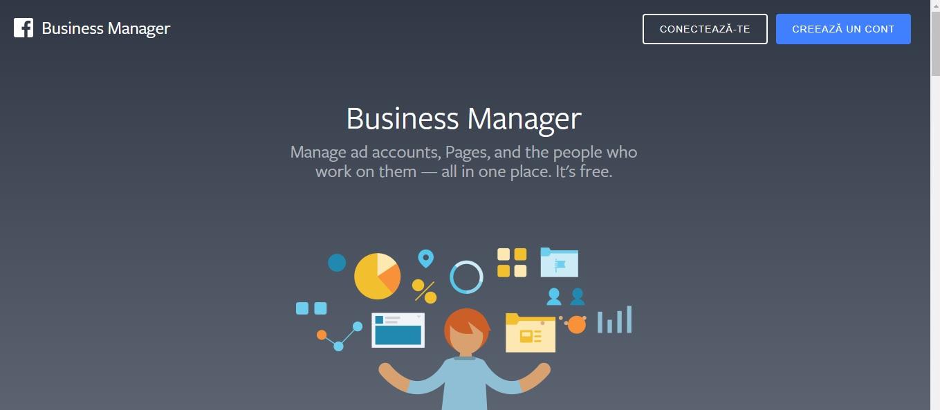 Cum sa iti setezi Facebook Business Manager