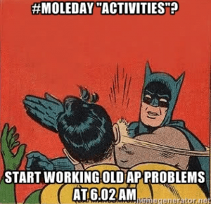 #MoleDay 2015