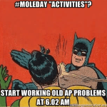 2015 #MoleDay Meme