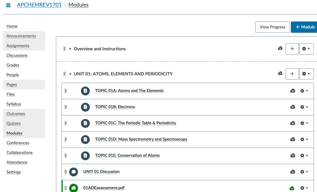 Online AP Chemistry Review Courses