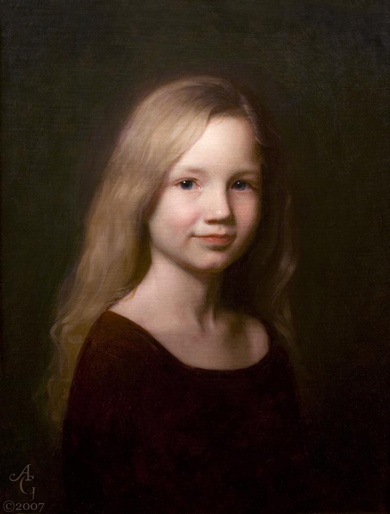 adrian gottlieb - portrait of molly