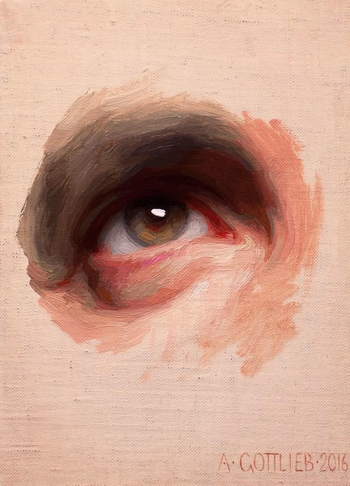 Original Eye study by Adrian Gottlieb