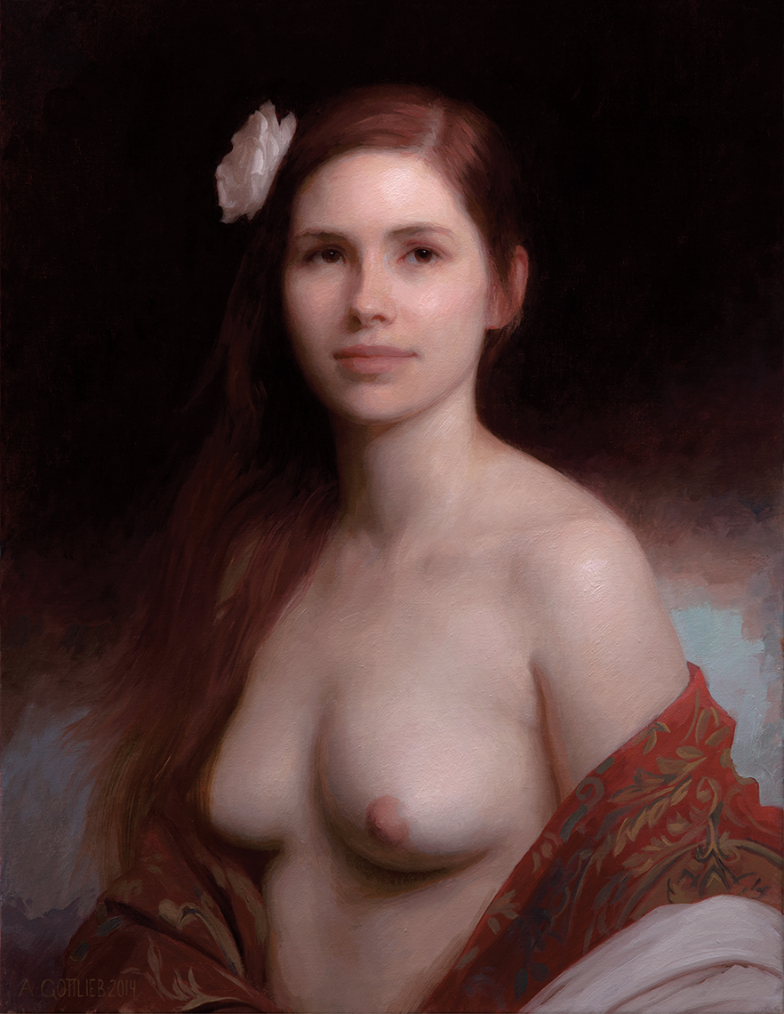 Reveal, 26x20 inches, oil on linen by Adrian Gottlieb