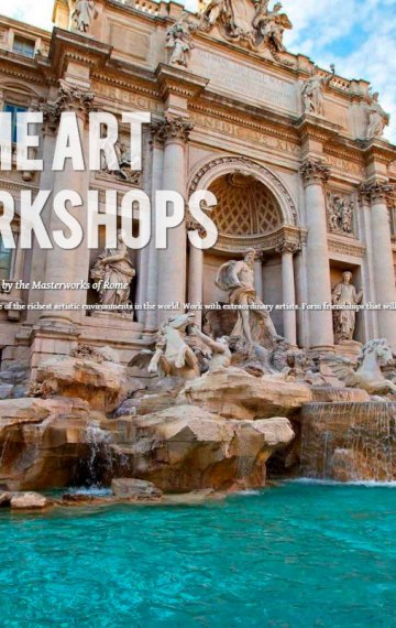 Rome Art Workshop June 11-22, 2018