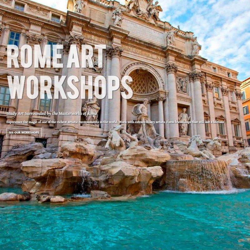 Rome Art Workshop June 11-22, 2018