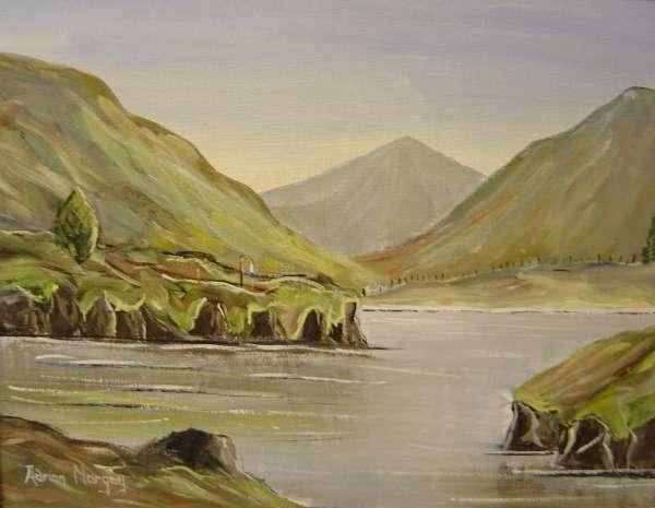 Connemara Bog Scene