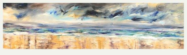 Iridescent Atlantic Skies, Portstewart Print