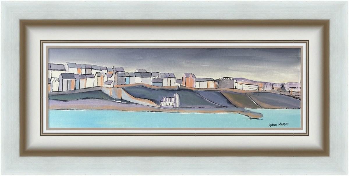 South Pier, Portrush Harbour in Frame