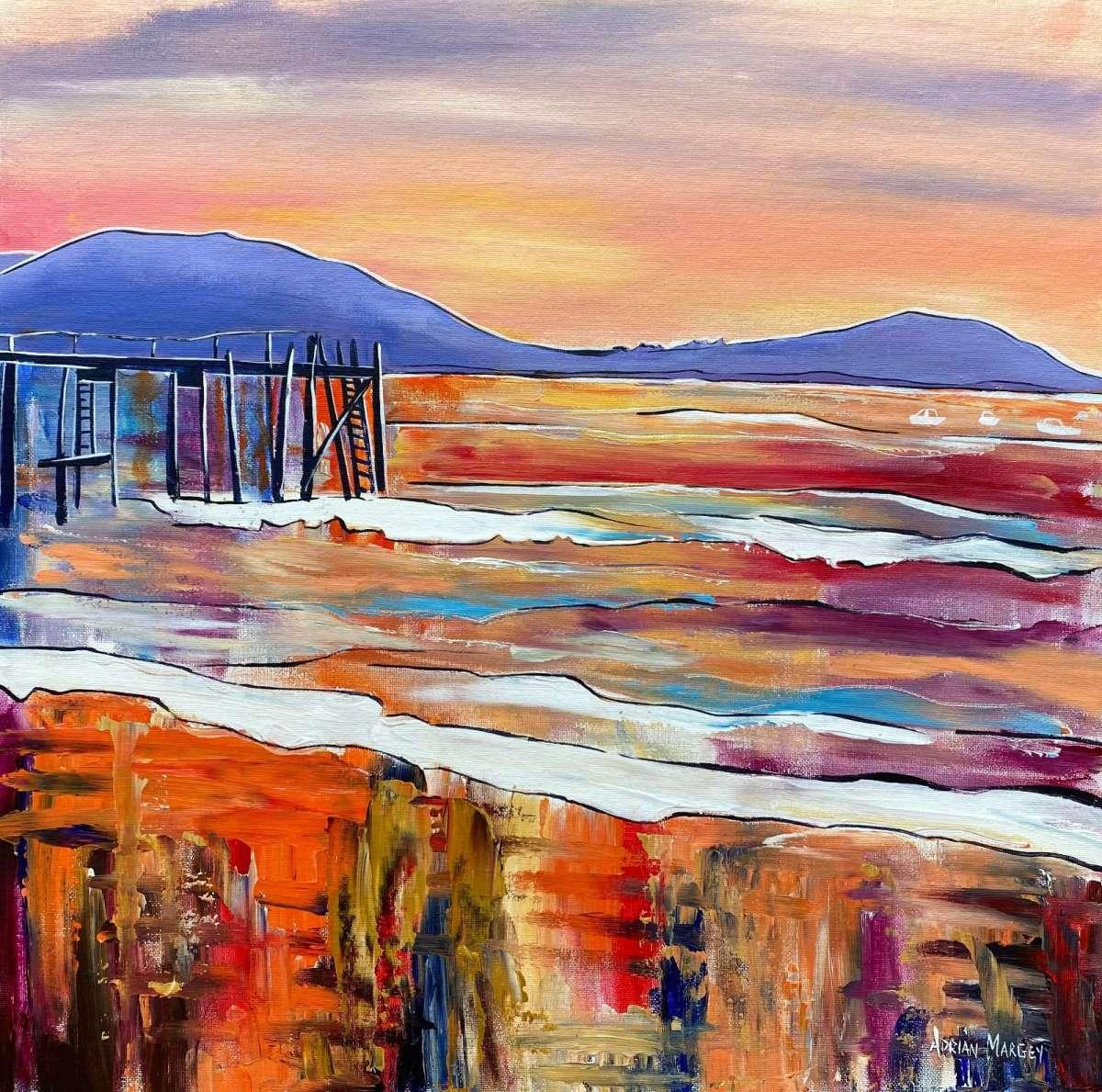 Sunset, Kinnegar Pier