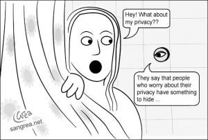 Occhio alla privacy !