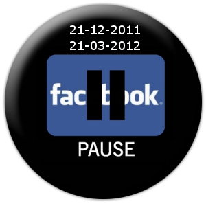 best loved 174b7 7629c Facebook pause switch off: arrivederci al 21 marzo 2012 ...
