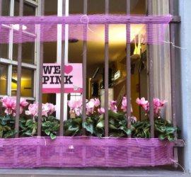 davanzale rosa beriocafe genova