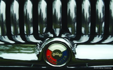 Grill detail from Buick Roadmaster