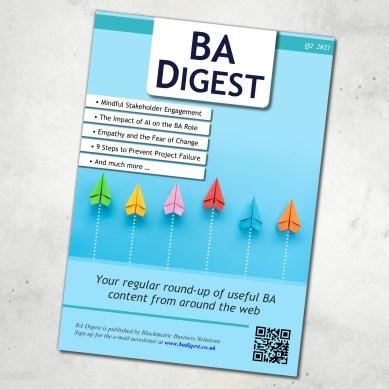 BA Digest 2021 Q2 Magazine Cover