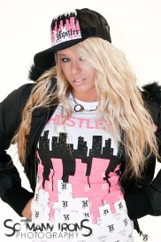 Model: Ashley Wooden | Client: Hustler Hollywood | Project: Valentine's Day Gift Guide | With Emmis Digital / 105.7 the Point St. Louis